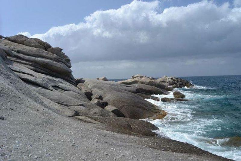Elba Santandrea Mare Sea Stones Scogli