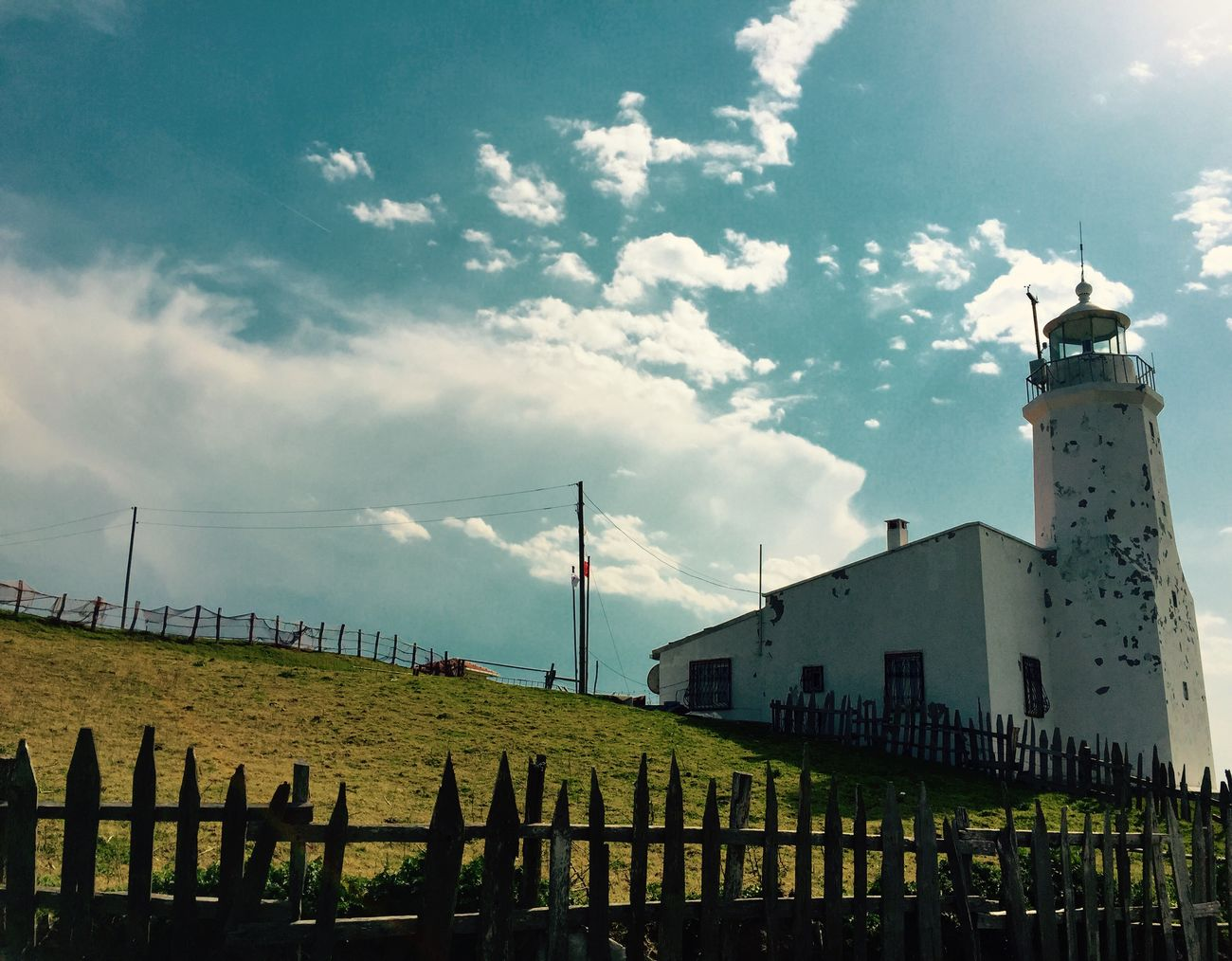Lighthouse Sinop İnceburun Sky 42 K Landscape