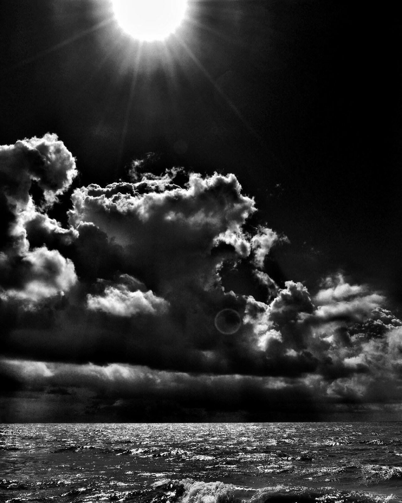 Day or night. Black And White photo by Ozan Seyhan Tonemapping HDR Check This Out Hello World