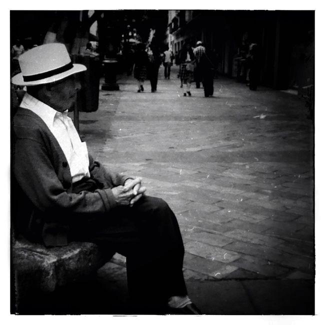 Calle de Puebla, México. Streetphotography Blackandwhite Monochrome_Monday US1776 Film