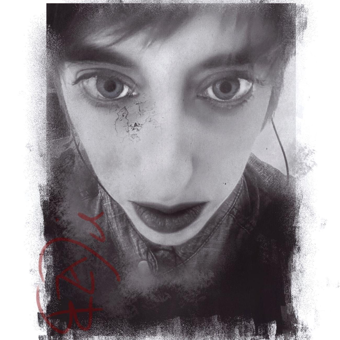 I am my own broken doll Portrait EyeEmBestPics Digital Art