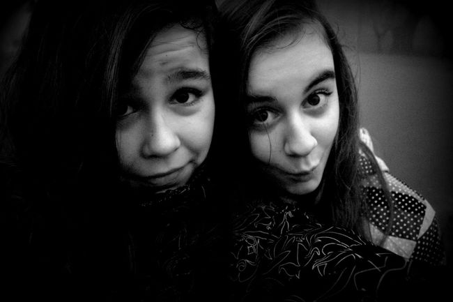 Me And My Friend That's Me My Sister & I Enjoy ✌