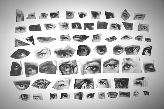 Bnw_friday_eyeemchallenge EyeEmSpy Find The Look! Lauren Bacall, alias The Look, is one of my favorite actresses. Can you find her eye? Eye4photography  Eyes Look Things Organized Neatly Cutting Spying Black And White Blackandwhite Photography