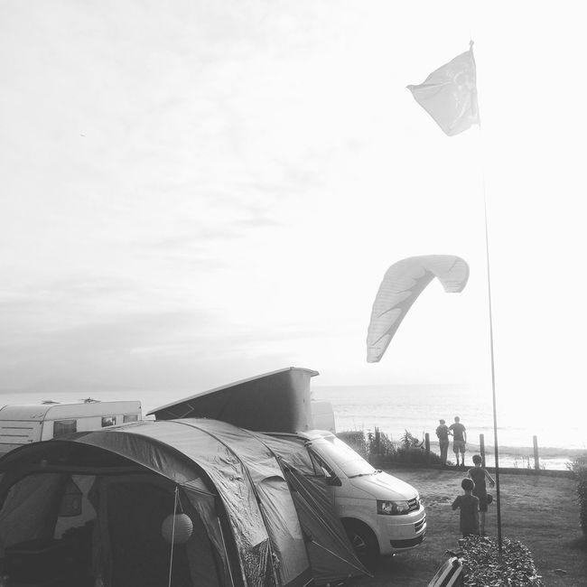 Camping Sea And Sky Enlain