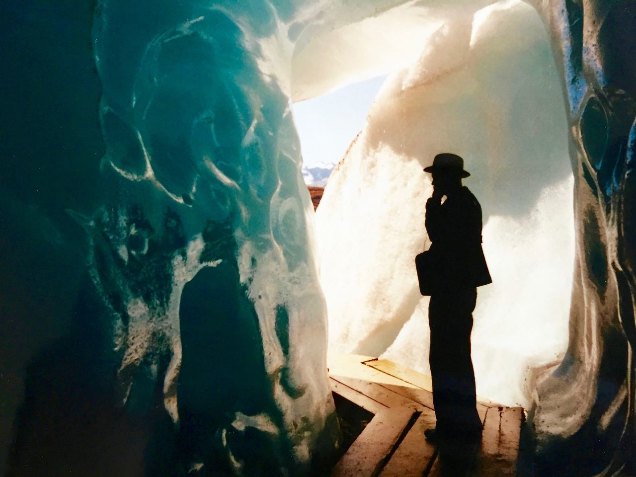 Environment Glacier Ice Inside Light And Shadow Light And Shadows Memories Nature Naturelovers One Person Real People Rhonealpes Searching Special Moment Travelling