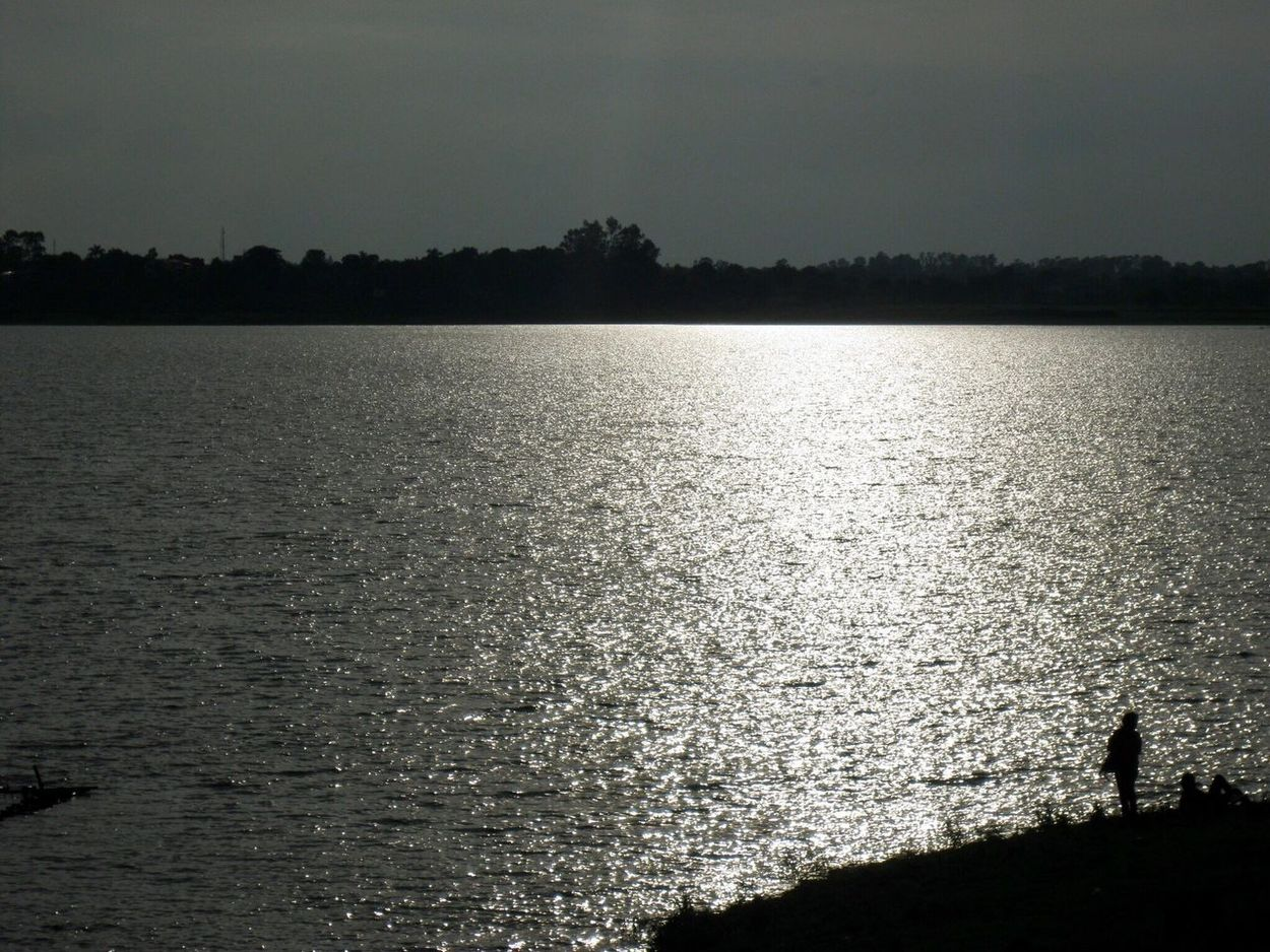 Nature Beauty In Nature Silhouette Sky Water Landscape Water And Sky Lost In The Landscape