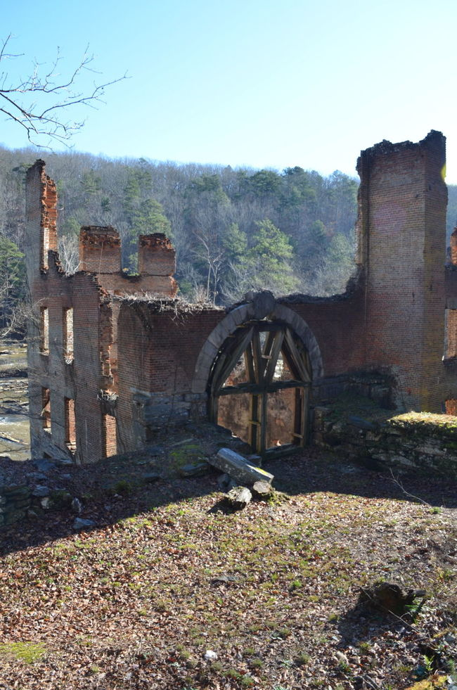 Arch Architectural Feature Architecture Built Structure History Old Ruined Sweetwater Creek