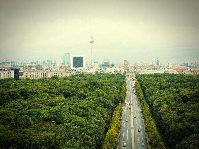 Berlin Berlin Views Siegessäule  Germany Brandenburger Tor Brandenburg Gate Fernsehturm Kanzleramt Berlin Park Berlin Park Street Straße Des 17. Juni Rainy Days Reichstag Reichtagsgebäude