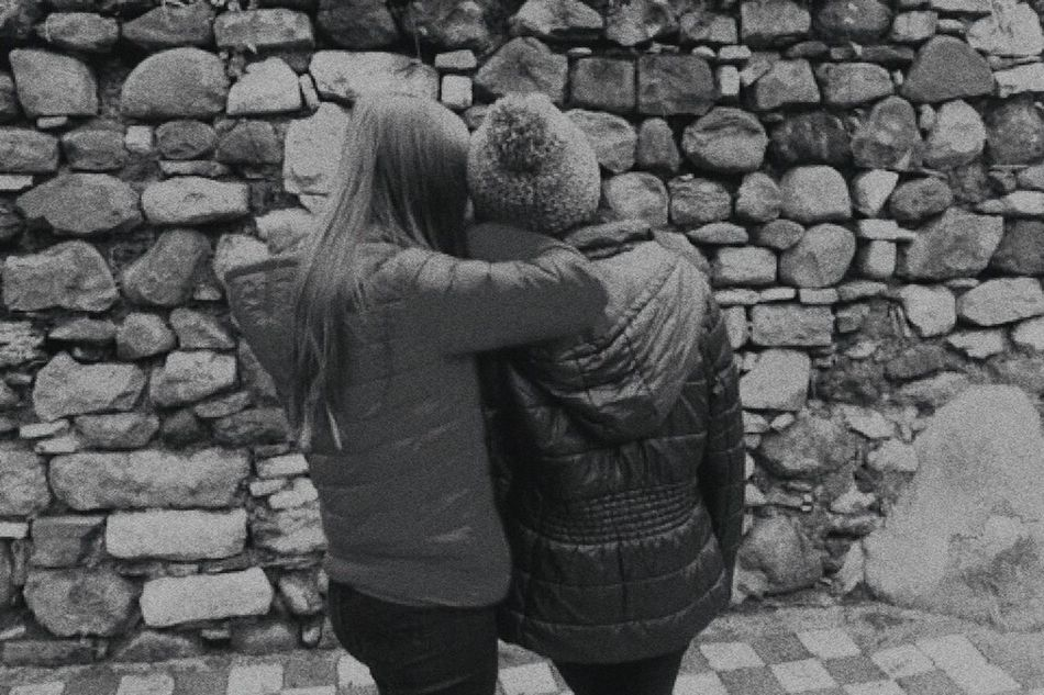 Darkness Feature Bff Forever Friends Love ♥ Oldpicture Blondeandbrown Tumblr Style. Tumblrphoto