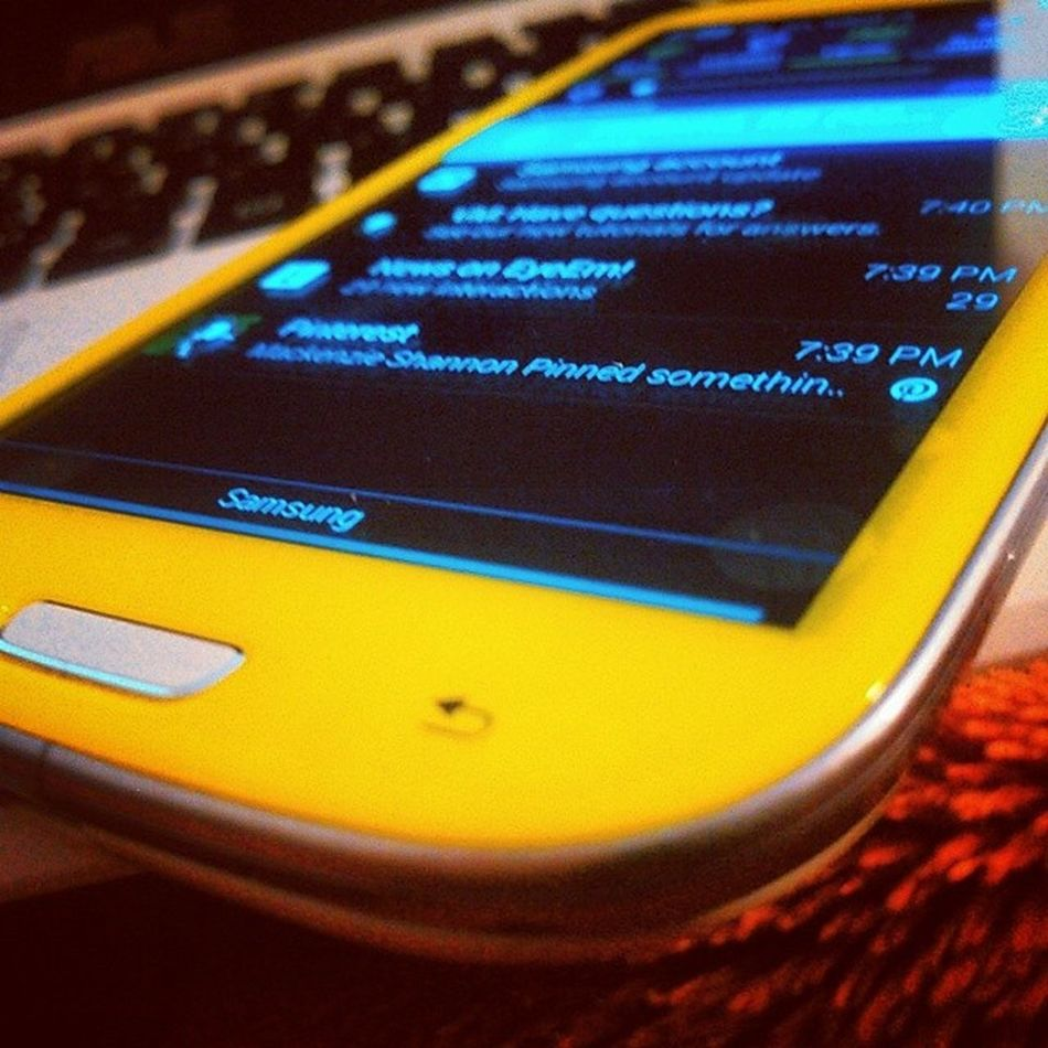 Photography Gotmyphoneback Yellow Galaxy s3
