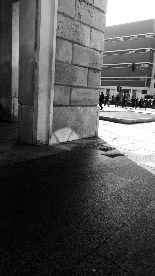 Milanocity Urban Corso Como Italy❤️ Street Moscova Street Blackandwhite Black & White Black And White Architecture