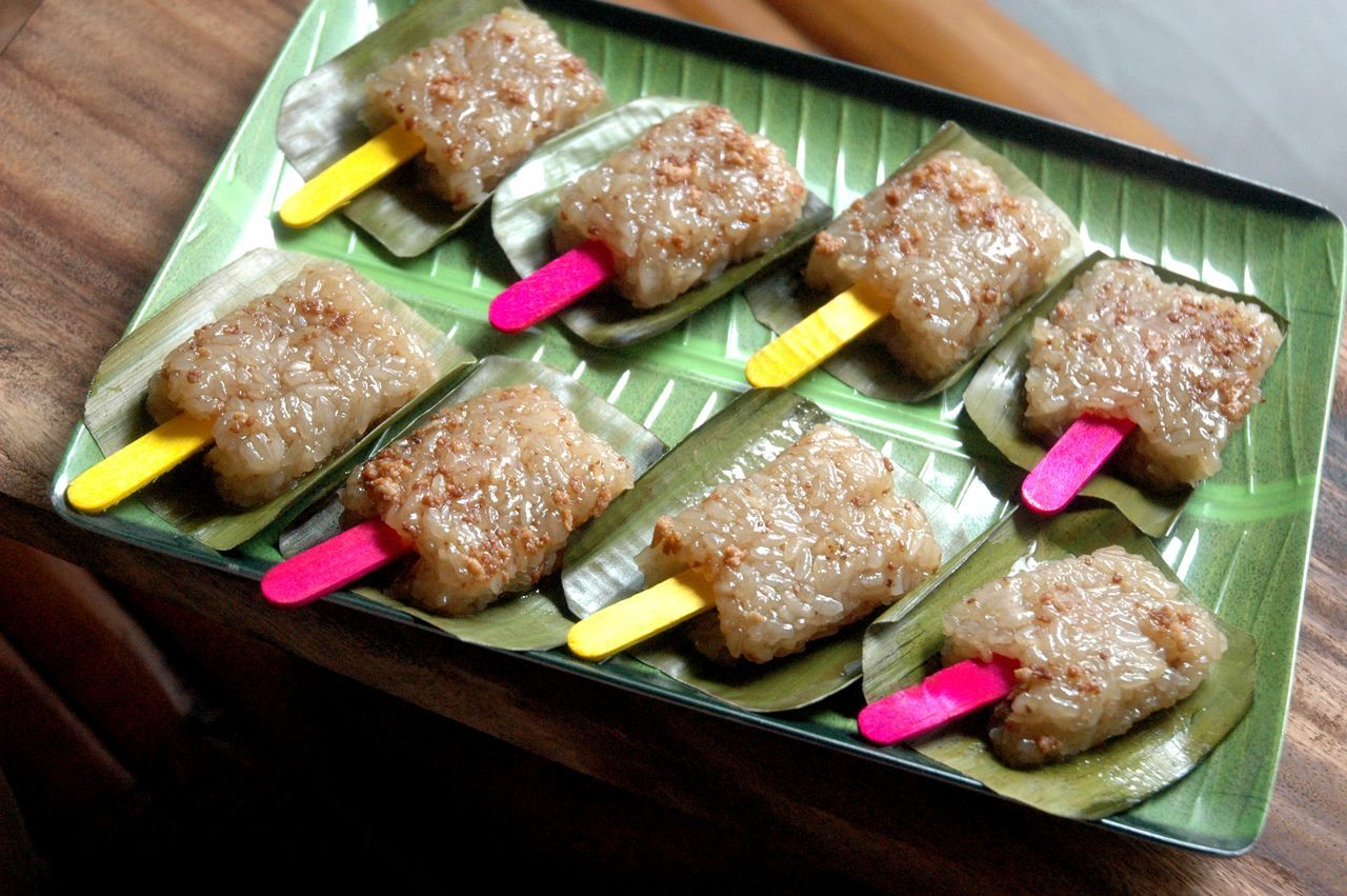 Close-up Desserts Food Food And Drink Freshness Indoors  No People Ready-to-eat Ricecake Skewer