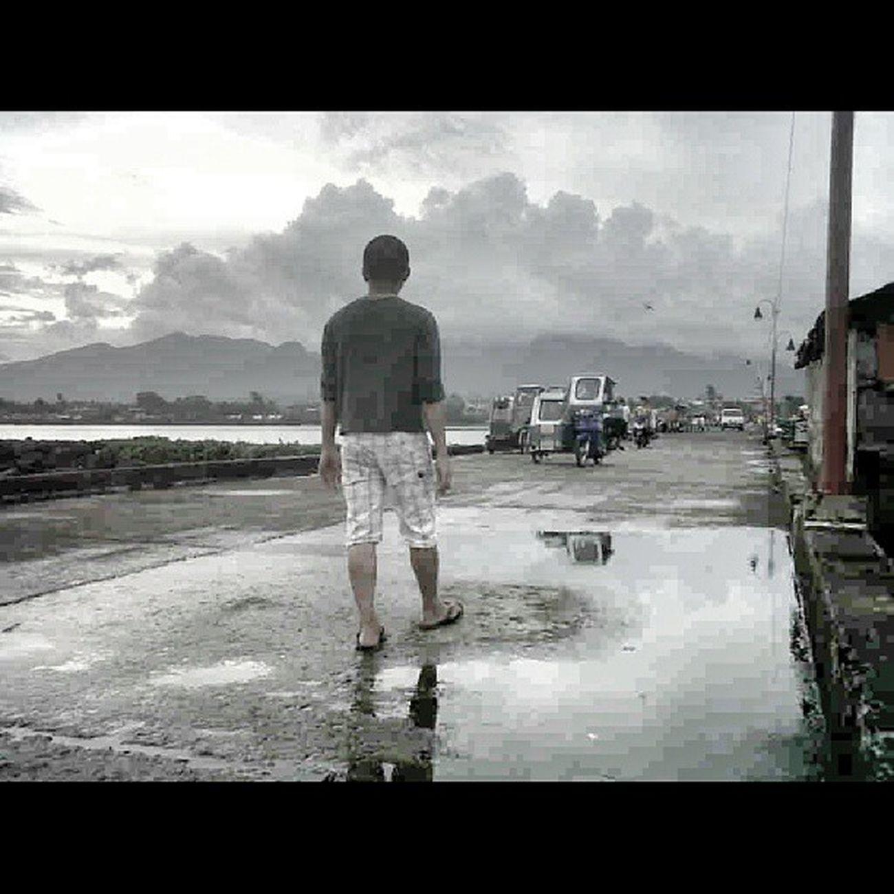 Rainy days Sorsogon city Sorsogonbay Pier Bikol Sorsogoncity