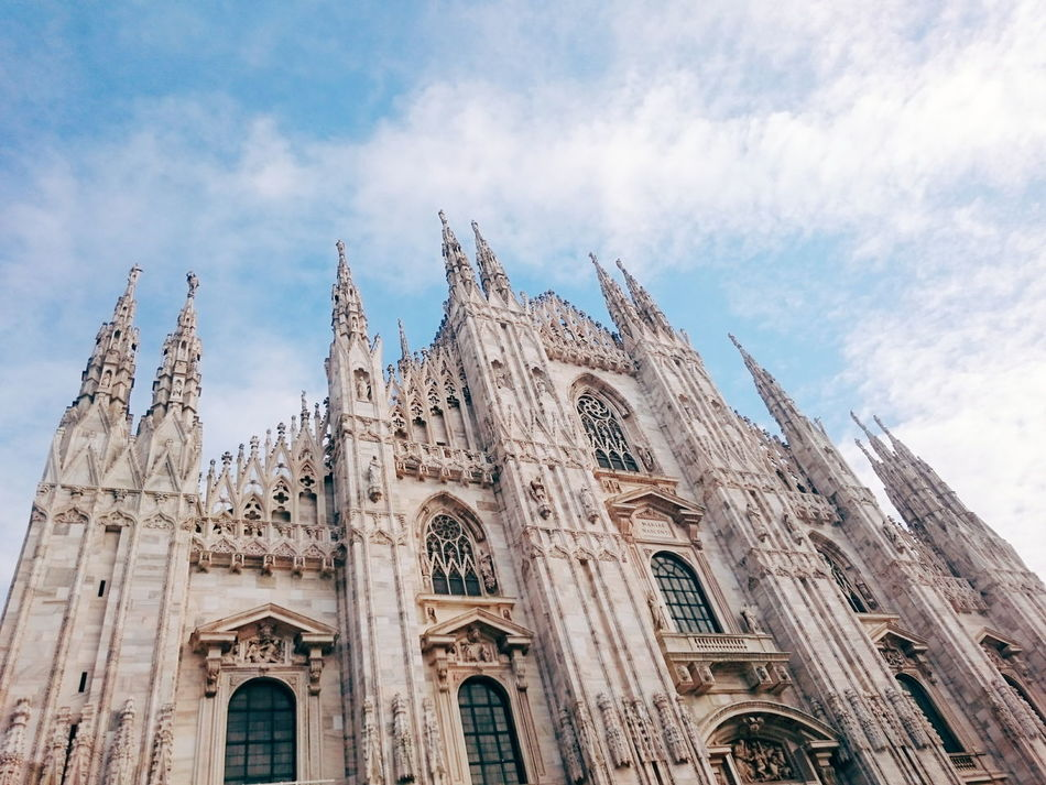 Beautiful stock photos of milan, Arch, Architecture, Cathedral, City