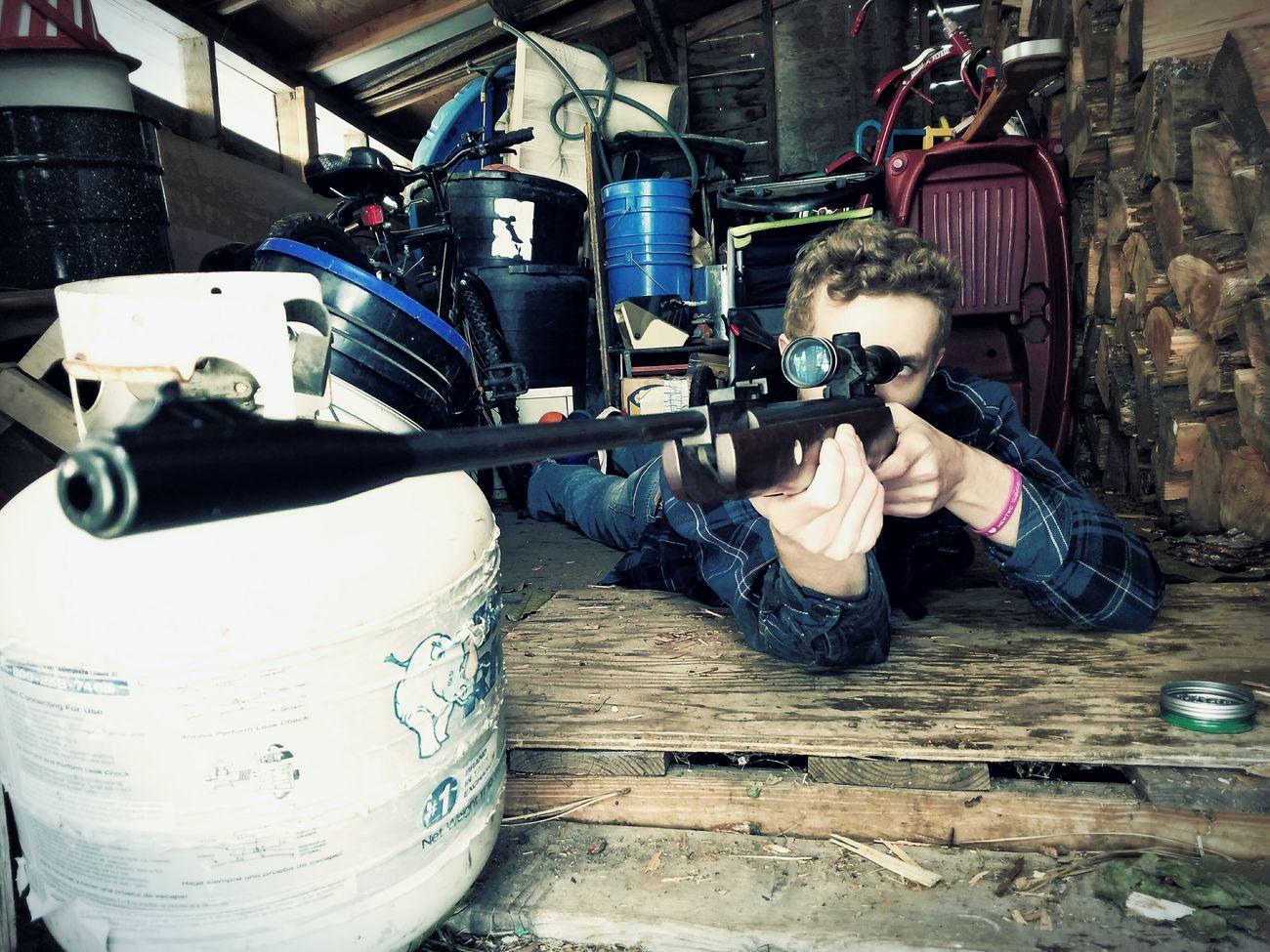 Shooting Guns Target Practice My Nephew ❤ Growing Up Too Fast  Snipershot Bb Gun