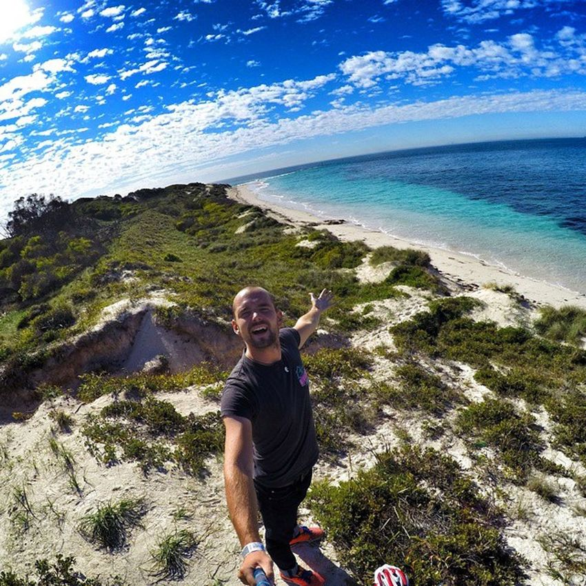 I was Heading to Rottnestisland close to Perthcity and have to say, it was Cool trip! ☺💓💜🌊🏄😍 sea gopro sky australia iloveaussies aussie selfie clouds instagood instamood lifeisridenow lifeisride warrenjc picoftheday me mytime traveling travelingtheworld happy fun love