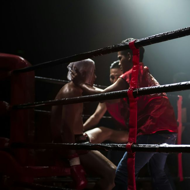 Sport In The City Muay Thai Behindtherope Fighter Boxing