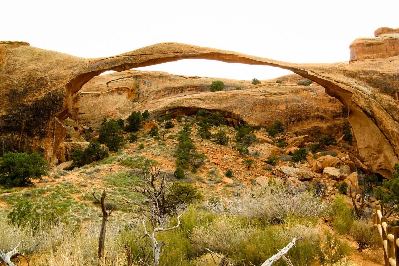 Arches National Park, Utah Beauty In Nature Eroded Geology Landscape Nature Non-urban Scene Old Old West  Outdoors Physical Geography Remote Rock - Object Rock Formation Rocky Mountains Sandstone Scenic Landscapes Scenics Sky The Old West Tourism Tranquil Scene Arches National Park Eroded Rocks Wind Erosion