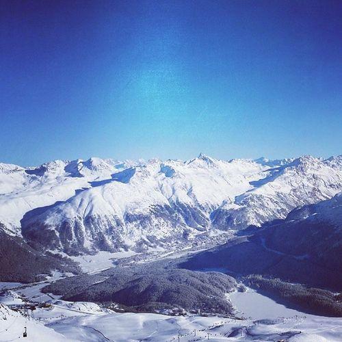 Skifahrung Goilerschoiss Stmoritz