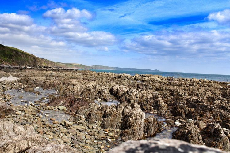 Cornwall Sea And Sky Seascape Photography Cliff