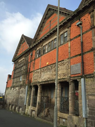 Library Unused Building Derelict Library