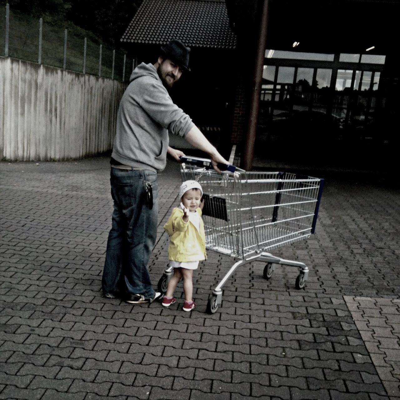 Beautiful stock photos of shopping, Daughter, Day, Family With One Child, Father