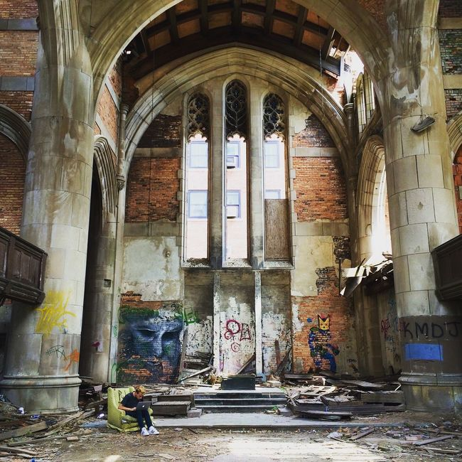 Abandoned Arch Architecture Art Brick Wall Built Structure Ceiling Column Creativity Door Entrance History Indoors  Old Wall Wall - Building Feature