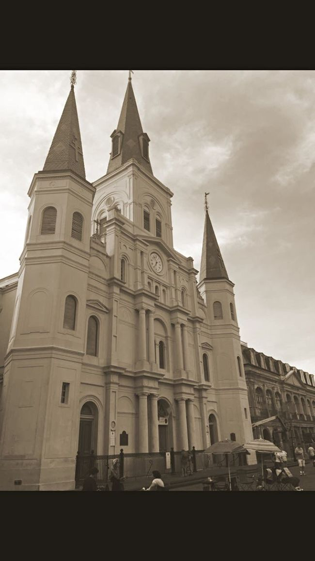 New Orleans French Quarter Church Jackson Square NOLA