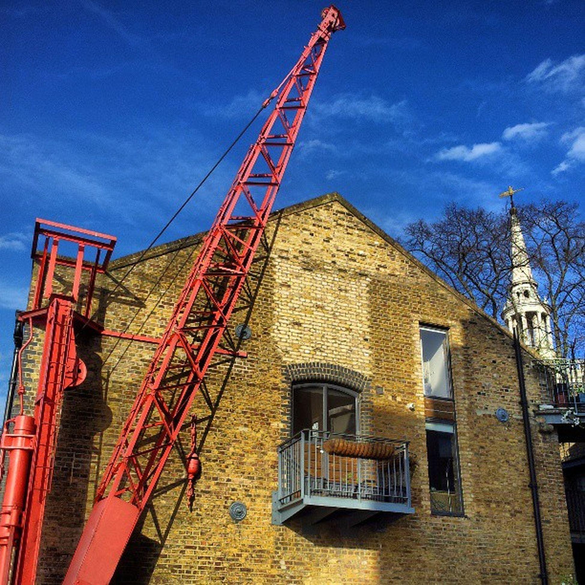 Warehouseconversion Warehouseconversions Crane Cranes craneporn docks dockside rotherhithe church selondon selondonforever