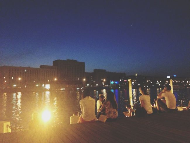 #sunset # People # Moscow