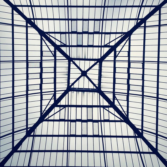 Alexandra Palace Ally Pally Pavilion Glass Roof Architecture Buildings & Sky