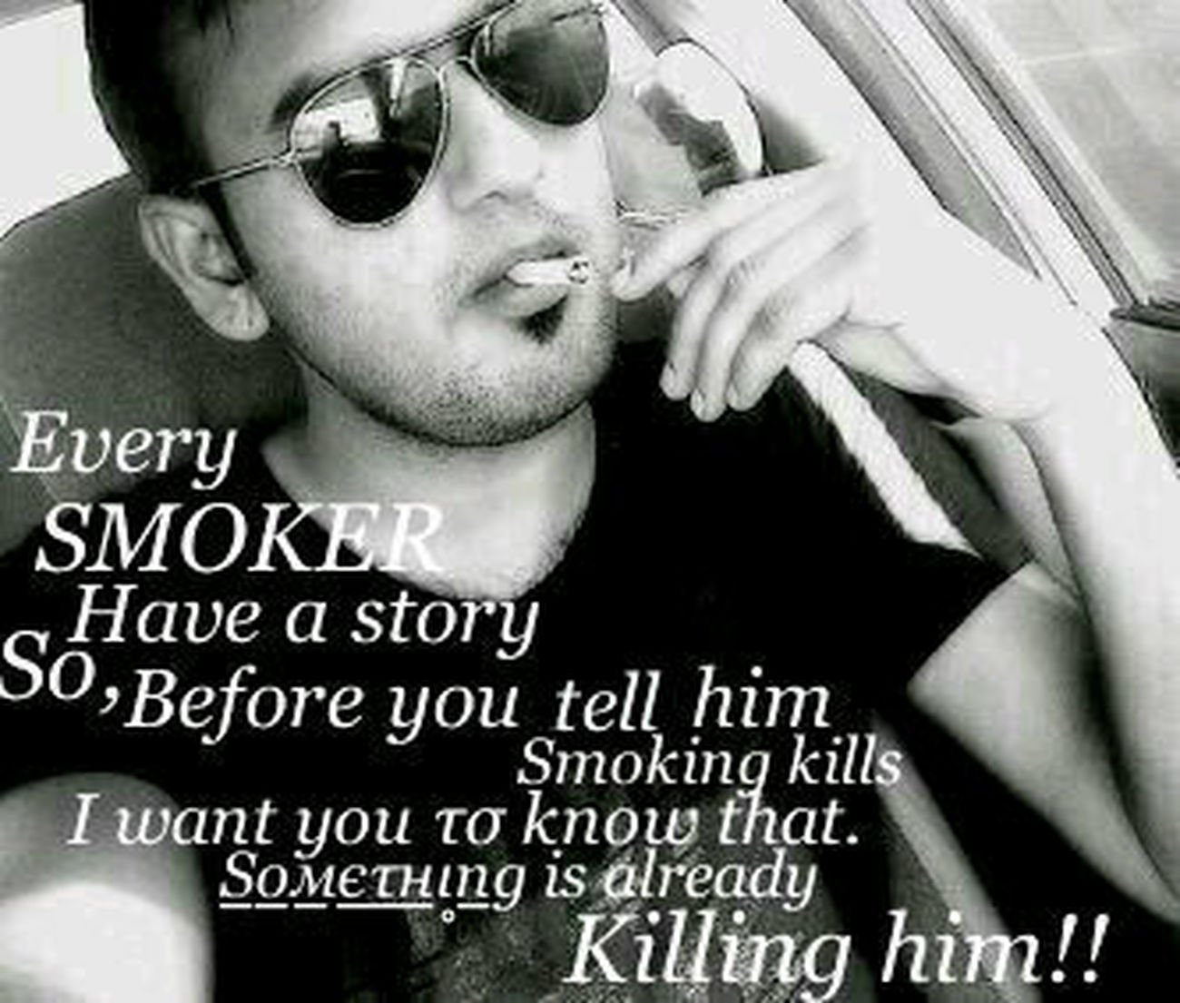 Me N Myself Smoke♥ Smokin' Smoker
