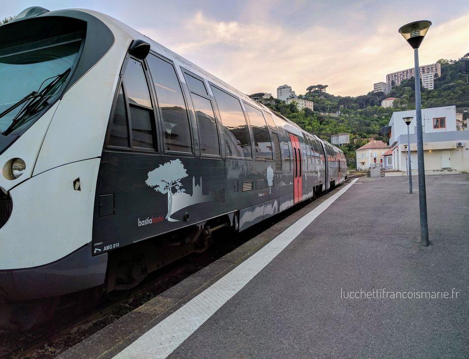 Train Gare Bastia Corse