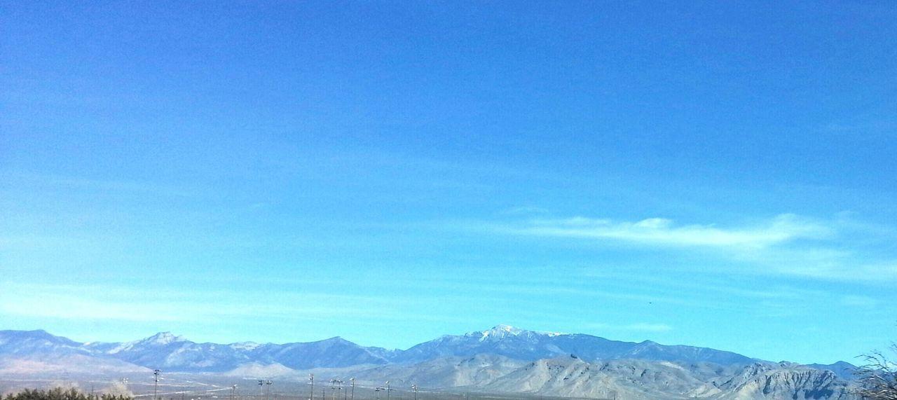 Sky And Clouds Nevada Desert Nature Desert Mountain
