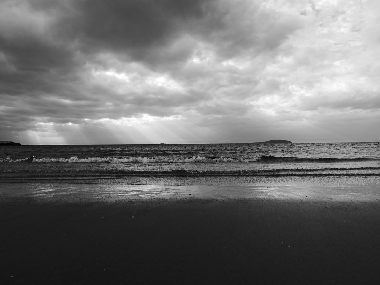Kagawa Prefecture Japan Black And White Sea No People Water Landscape Tranquility Horizon Outdoors Coast Day Island Wave Nature Reflection Eye Stable Vision Voice Kiss Sunset Past Everything Becomes Equal By Extinction