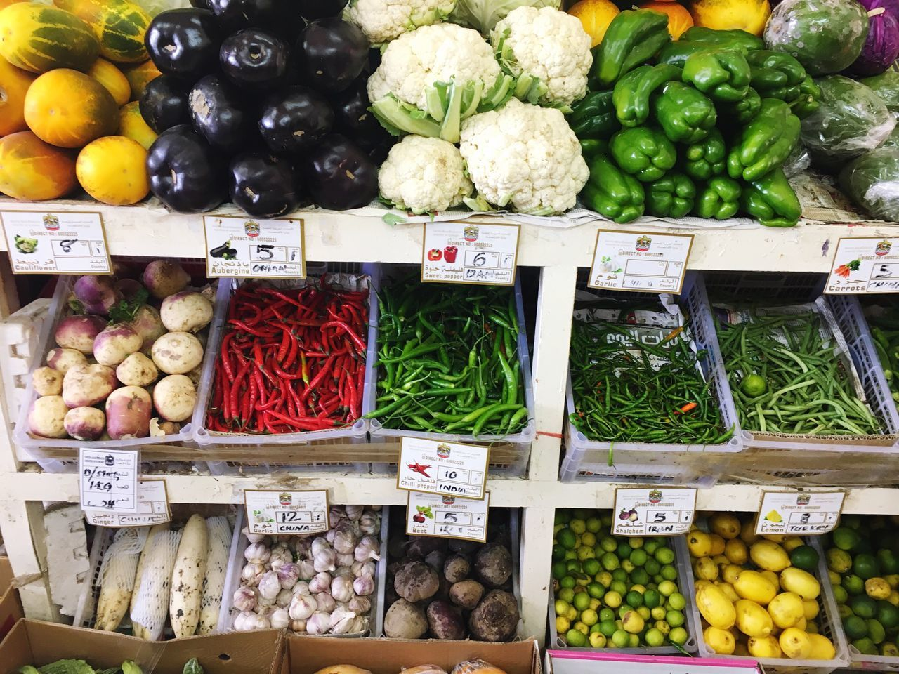 Beautifully Organized Healthy Eating Market Stall Food