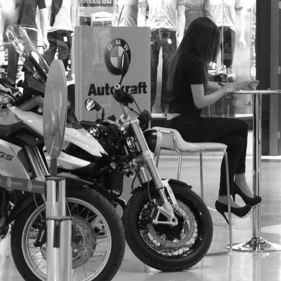 Streetphotography Bmw Motorcycle