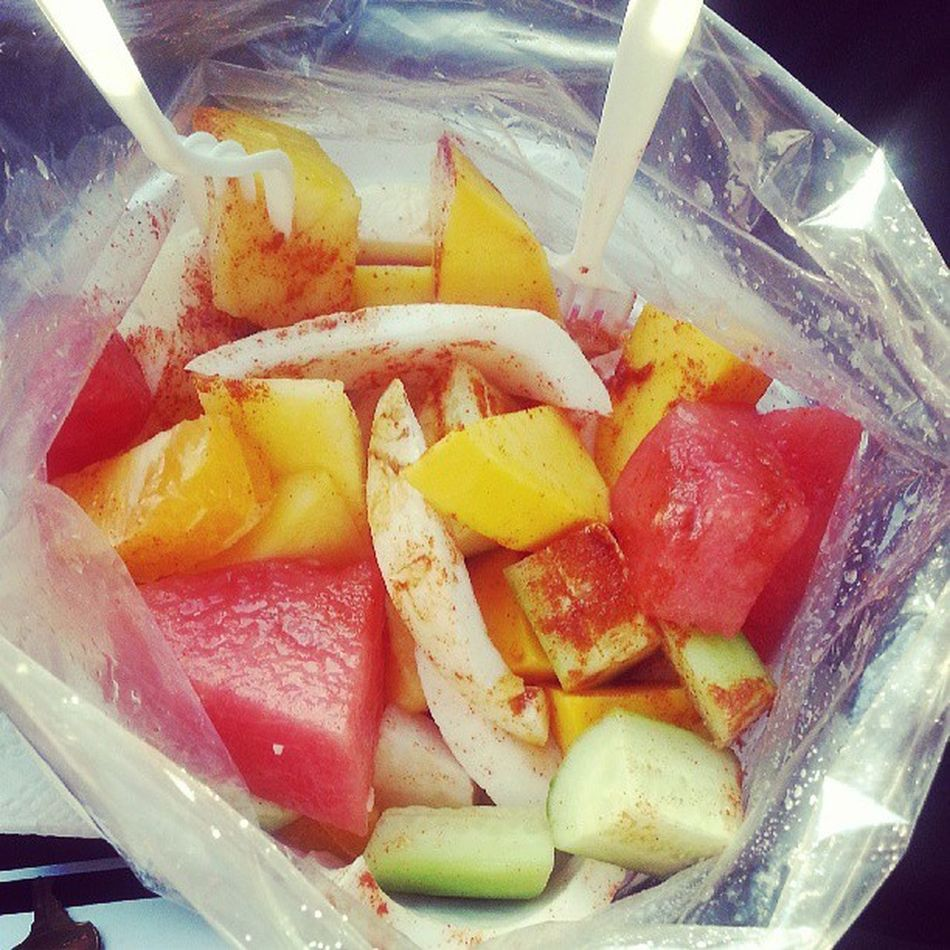 :D For this hot weather... Fruitcocktail