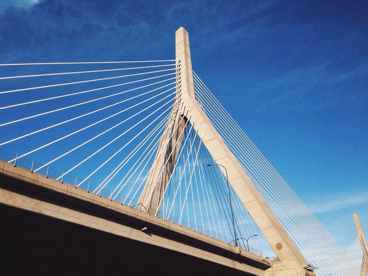 Beautiful stock photos of bridge, Architecture, Blue, Boston, Bridge
