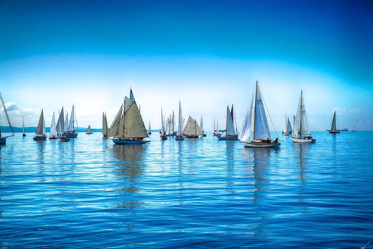 Italy Sailing Gulf Of Triest Barcolana Classic Sailboat Trieste Adriatic Sea Classic Boats Wood HDR Regatta Regata