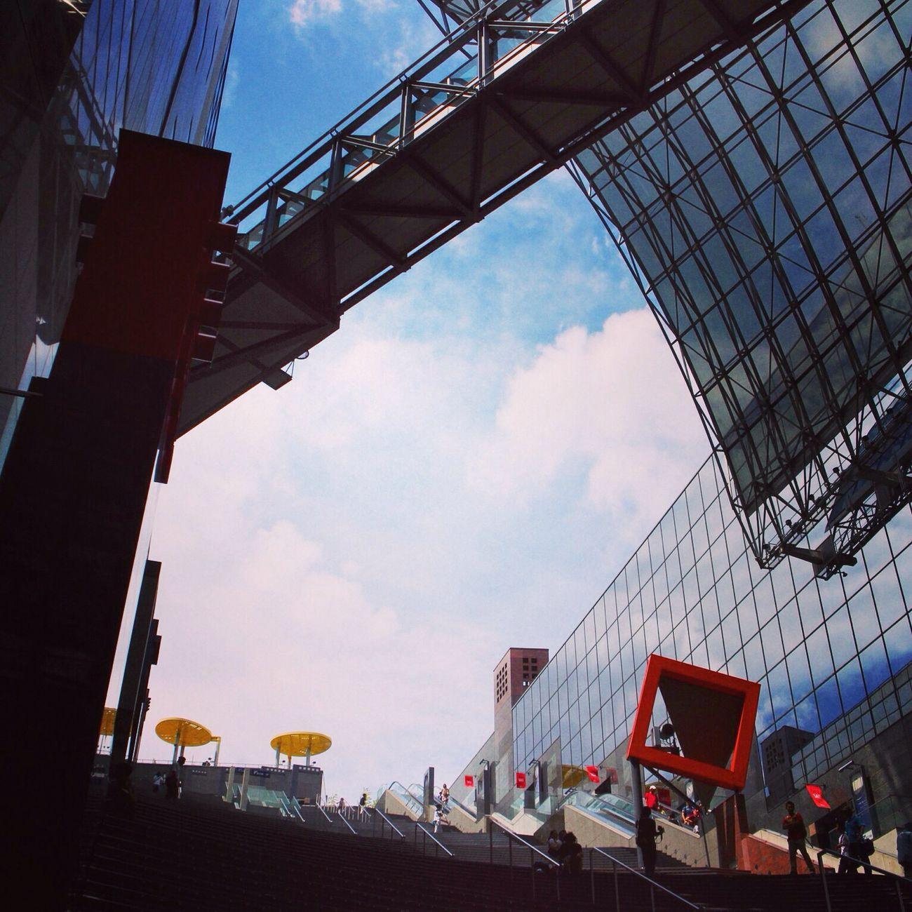 大階段 京都駅ビル
