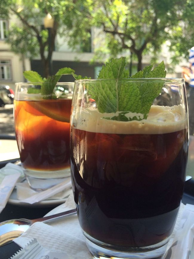 CF Cold Drink Coffee Coffee Break Glasse