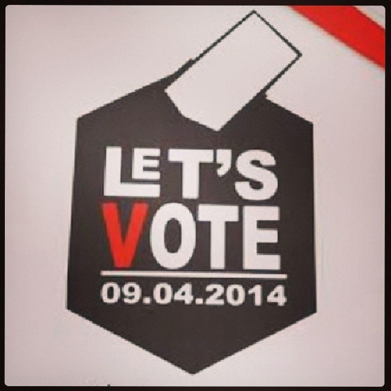 Lets vote Pemilu2014