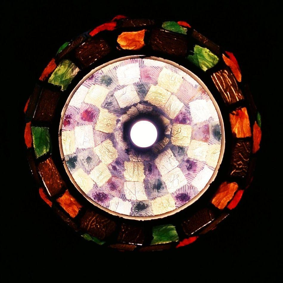 Phone photography. Interior Hanginglights Light Indoors  Illuminated Night Colored