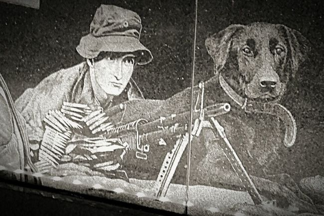 Soldier, & Dog War Memories War Memorial Dogs Soldier, And Dog The ANZACS Lestweforget Anzac Spirit Rip Lest We Forget R.I.P. Art ANZAC Dog Anzaccentenarymemorialwalk Anzac Centenary Memorial Walk Gone But Never Forgotten Anzac Memorial ArtWork Warmemorial Soldiers Man's Best Friend LEST WE FORGET The ANZACS Anzacs Anzacday2016