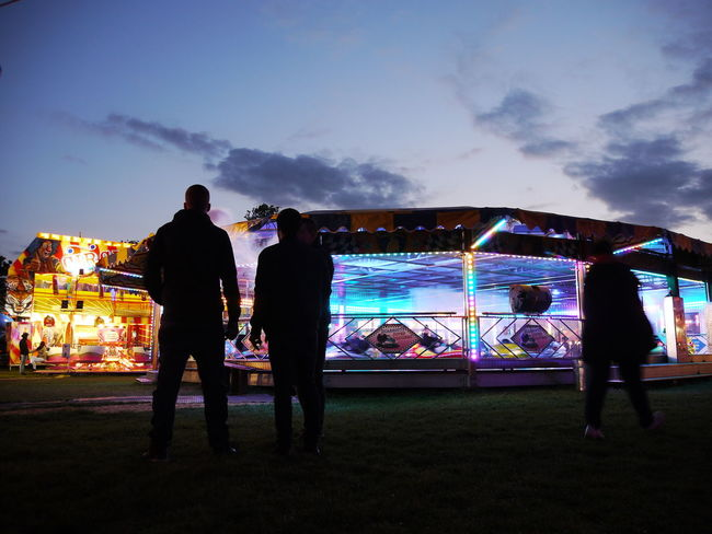 watching the people watching the rides People Watching HDR Sky And Clouds Skyporn Cloudporn Colour Photography Light In The Darkness Hdr_lovers Dusk Hdr_Collection Hdr Edit Night Photography Dodgems Fairground Rides Mirrorless Panasonic Lumix In The Park Fairground Fairground Attraction HDR Streetphotography Street Photography Check This Out Dodgem Cars Silhouette Silouette & Sky