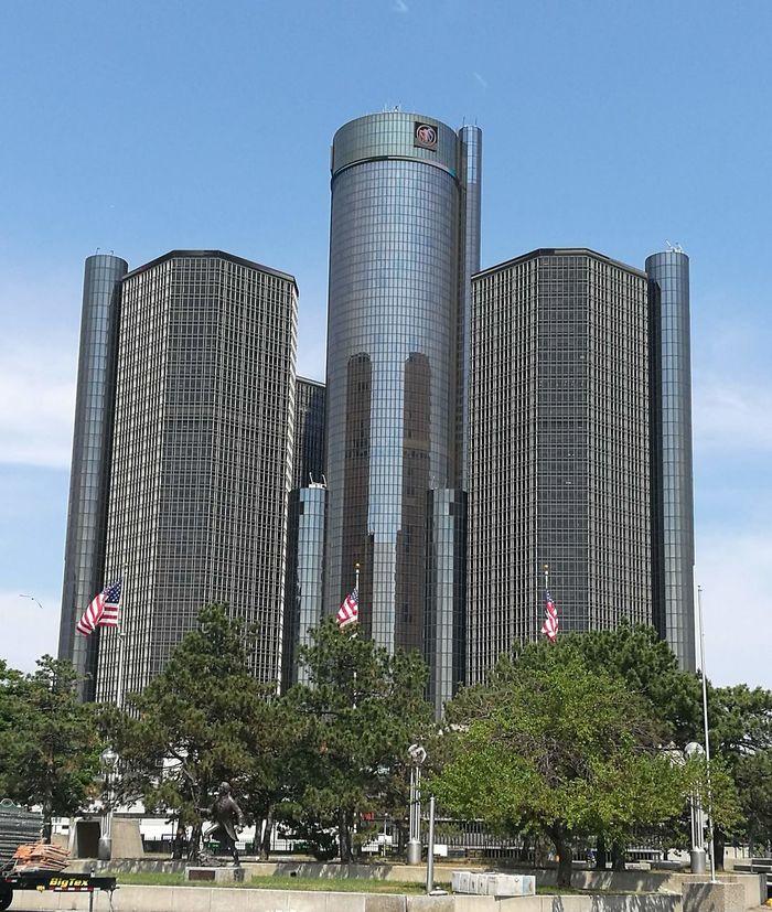 Detroit DetroitMichigan Detroit Michigan DetroitSkyLine Detroitlove USA Michigan Crysler Building Cryslerbuilding Crysler
