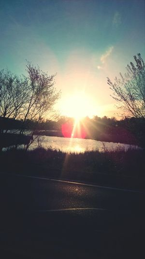 Sunset Hello World Beautiful Nature Minnesota Outdoors Beauty Lovely Weather back in May