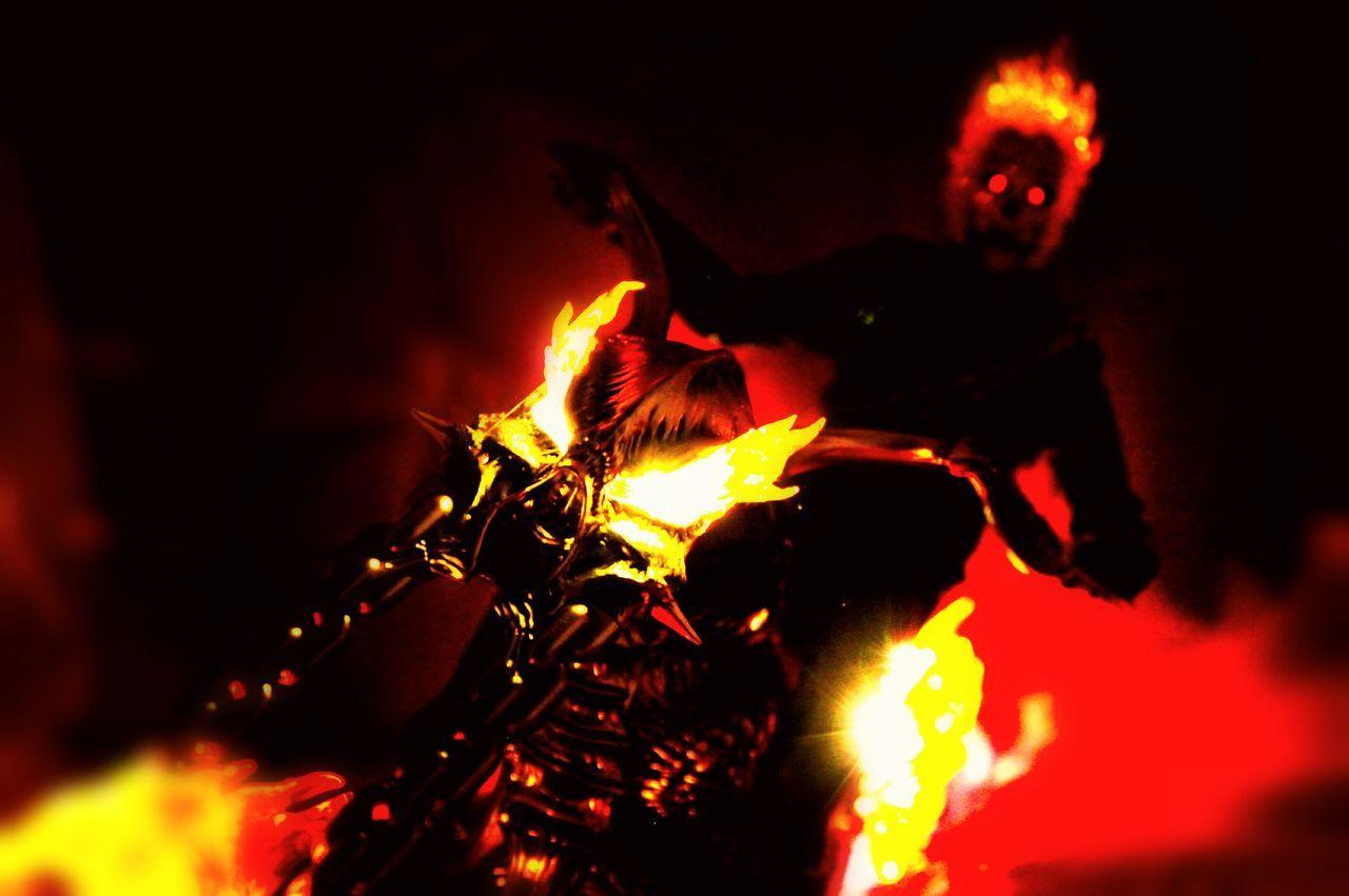 flame, burning, heat - temperature, night, fire, bonfire, outdoors, close-up, illuminated, no people
