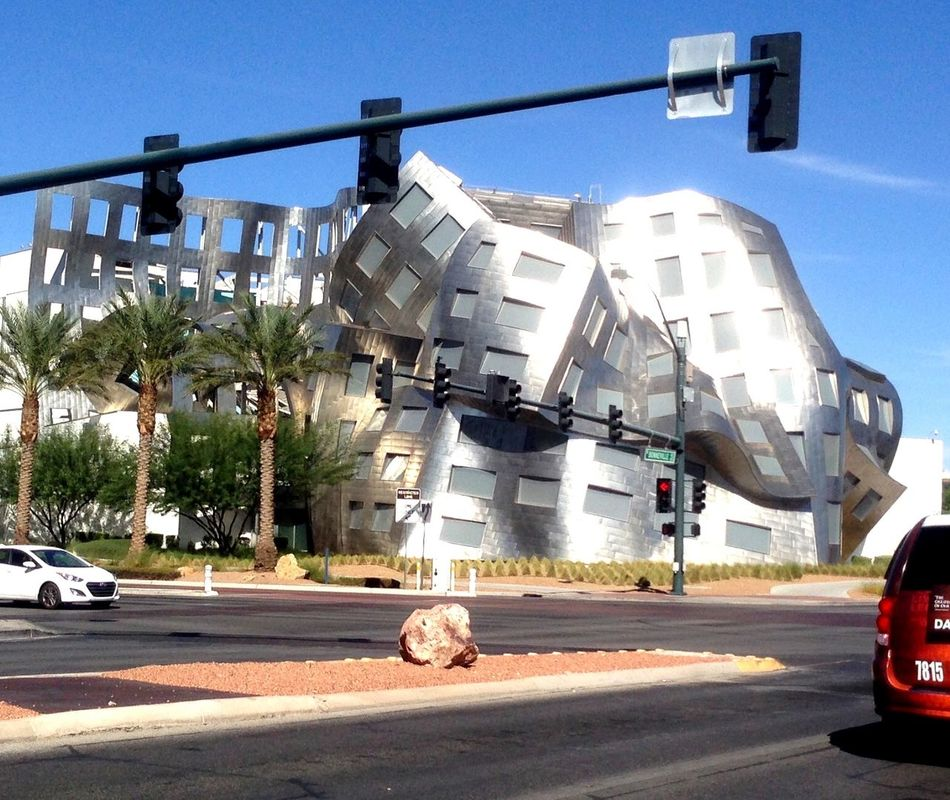 Las Vegas Architecture Metallic Hanging Out Enjoying The View Taking Photos ArtWork Geometric Shapes